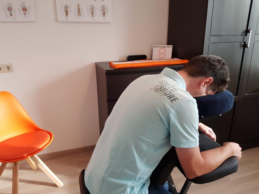 Stoelmassage massagestoel
